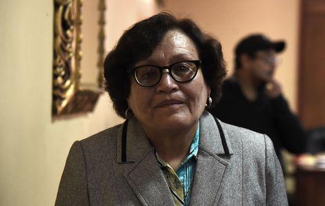 Teresa Subieta, representante de la Defensoría del Pueblo en La Paz.