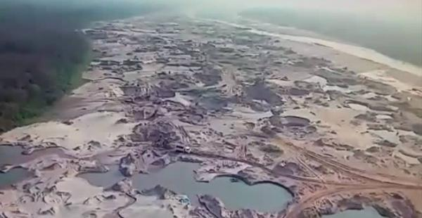 Piraí, desastre ambiental