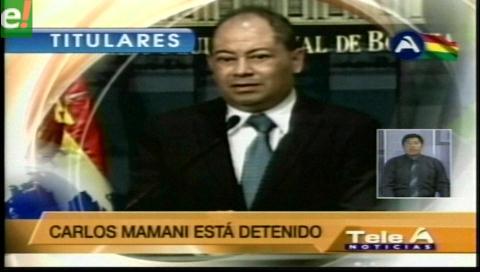 Titulares de TV: Ministro Romero. Varios dirigentes de Fencomin presenciaron el asesinato del viceministro Illanes