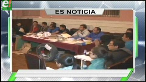 Titulares de TV: Fiscalía busca a 18 cooperativistas mineros por la muerte del viceministro Illanes