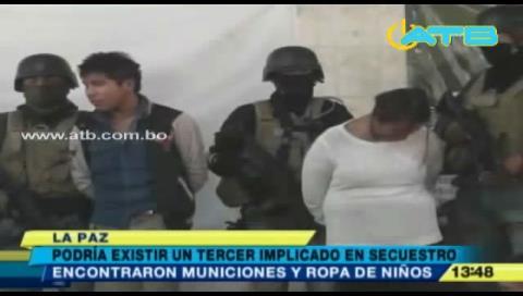 Presumen que una tercera persona participó en el secuestro de Camila