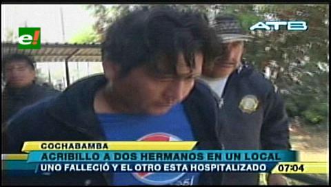 Cochabamba: Cae hombre que baleó a hermanos y mató a uno