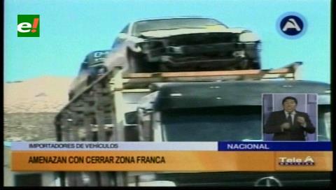 El Alto: Importadores de vehículos amenazan con cerrar la zona franca