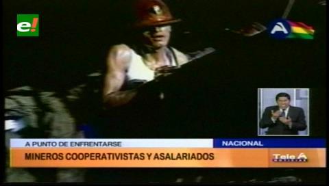 Robo en Colquiri enfrenta a mineros asalariados y cooperativistas