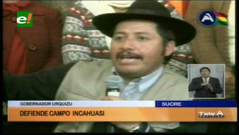 Chuquisaca define acciones por el megacampo Incahuasi