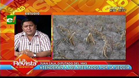 Sequía: Ven pocas acciones de la Gobernación cruceña para declaratoria de emergencia