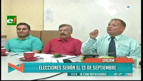 Uagrm: Convocan a la elección de rector el 13 de septiembre