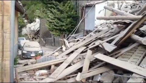 Los vídeos del terremoto que ha sacudido Italia