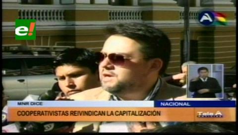 Diputado Morón: Cooperativistas reivindican la Capitalización