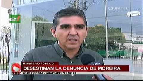 Fiscalía desestima denuncia de Moreira contra dueñas de un local