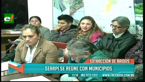 Explotación de áridos: Searpi se reunió con 8 municipios y ambientalistas