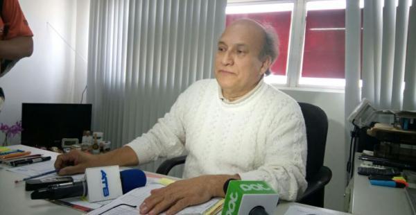 Óscar Mario Arano, director del hospital de la Villa informó del estado del anciano amputado