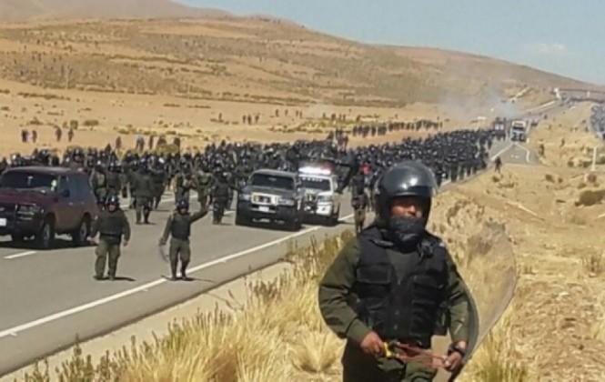 """Racicot califica sucesos ocurridos en protestas mineras como """"muy graves"""" y pide investigación"""