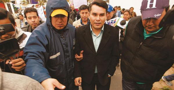 El viernes pasado, Carlos Alberto Moreira quedó libre tras prestar sus declaraciones informativas