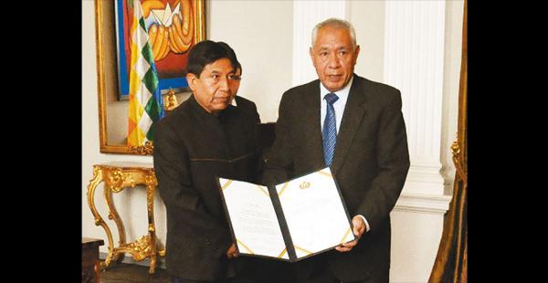 El embajador de Bolivia en Brasil, José Kinn, llegó  después de la destitución de Dilma Rousseff