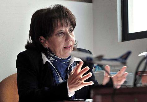 Lourdes Omoya, gerente ejecutiva de la Empresa Estatal Boliviana de Turismo (Boltur).