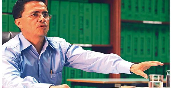 """Candidato fuerte Jaldín era uno de los dos candidatos con mayor preferencia  Jaldín dice en su carta: """"Me reservo el derecho de presentar las acciones legales para preservar la autonomía"""""""