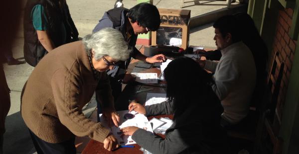 Se espera que en las próximas horas también concluyan los cómputos en los departamentos de Oruro y La Paz.