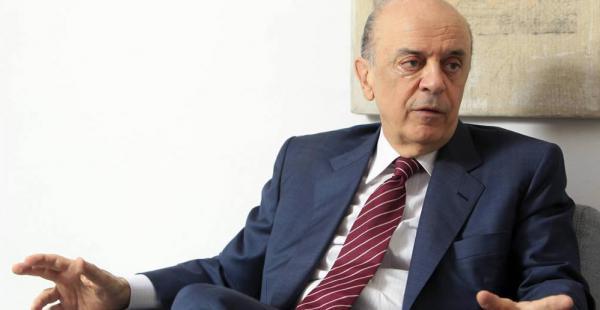 El ministro de Relaciones Exteriores de Brasil, José Serra, le pidió al mandatario boliviano aprender de la crisis de su país