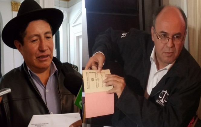 """Ferreira a Quispe: """"a ese cobarde le pido que haga su denuncia, y si no lo hace yo lo denunciaré"""""""