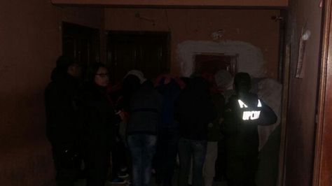 Detenidos en el operativos sorpresa en lenocinios en la ciudad de La Paz