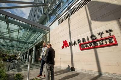 Hotel Marriott Marquis, en Washington (foto de Andrew Harnik, AP)