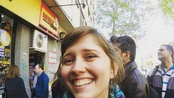 Va por más. Rebeca acompaña turistas en Buenos Aires y quiere hacerlo más seguido.