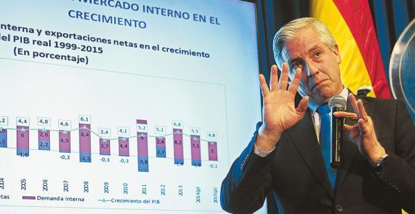 García Linera estima que la rebaja en la venta de gas no será catastrófico para la economía