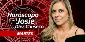 Josie Diez Canseco. Horóscopo del martes 27 de septiembre de 2016
