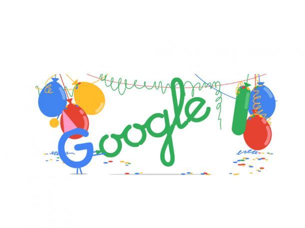 Google cumple 18 años y lo celebra a lo grande en interactivo doodle