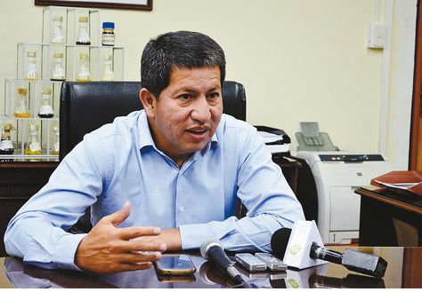 Ministro Luis Alberto Sánchez. Foto: ABI