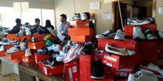 Dircabi remata este jueves 3.654 zapatillas deportivas de marca incautadas al narcotráfico