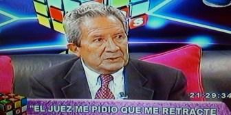 Periodista Vacaflor cumple orden judicial y se retracta de declaraciones contra Evo Morales
