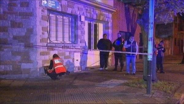 Guillermo Tarrio fue asesinado por motochorros a media cuadra de su casa, en Barracas. (Captura de TV)