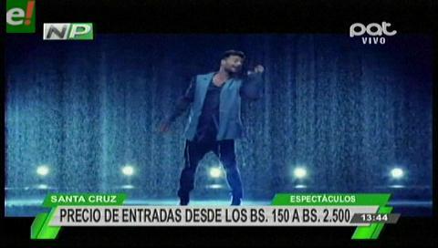 Ricky Martin brindará dos conciertos en Bolivia