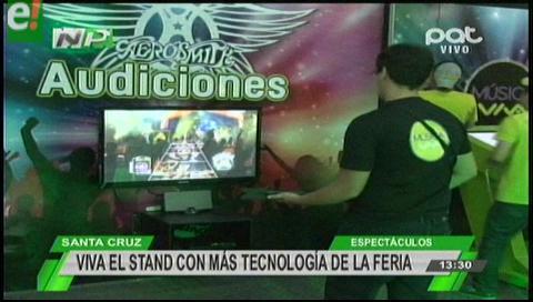 Expocruz 2016:  Con  una propuesta tecnológica y de realidad virtual