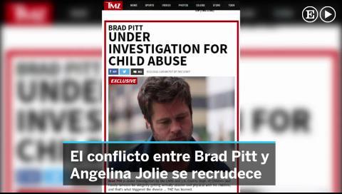 Brad Pitt, investigado por pegar y abusar psicológicamente de sus hijos