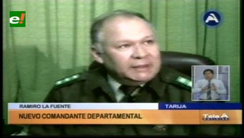 Nuevos comandantes de la Policía de Tarija y Potosí asumen sus funciones