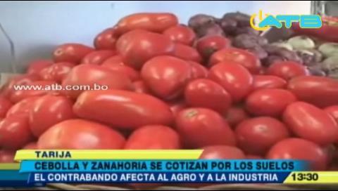 Contrabando afecta al agro e industria en Tarija