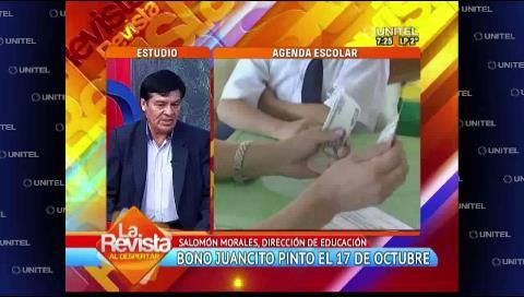 Alumnos rezagados que no cobren el Juancito Pinto podrán hacerlo después