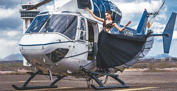 /bella. la maniquí Uruguayo-Boliviana Romina Trotto, que ganó el Miss World Uruguay de este año, estará sobre la pasarela donde ana palza también subirá a ocho cholitas originales