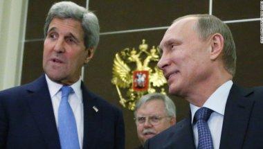 El secretario de Estado John Kerry se reunió con el presidente Vladimir Putin para discutir el tema.