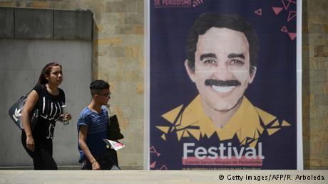 Kolumbien Gabriel García Márquez Preis für Journalisten (Getty Images/AFP/R. Arboleda)