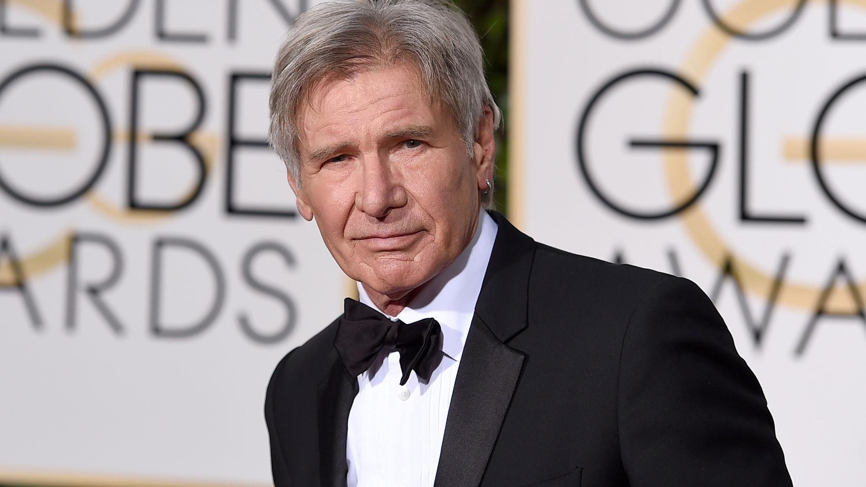 El actor estadounidense Harrison Ford.