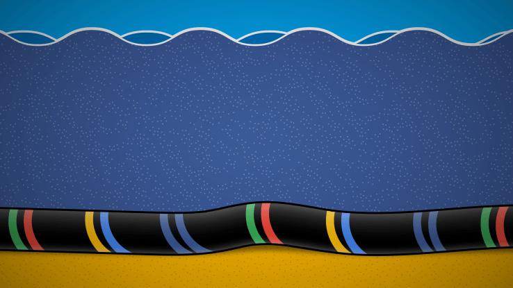 Google y Facebook pondrán el cable submarino más rápido del Pacífico