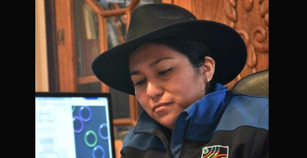 La ministra Marianela Paco reveló su enfermedad. Anunció que irá a la interpelación