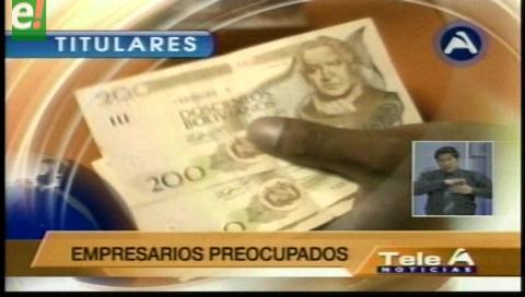 Titulares de TV: Presidente Morales garantiza el pago del 2do aguinaldo si el país crece más del 4.5%