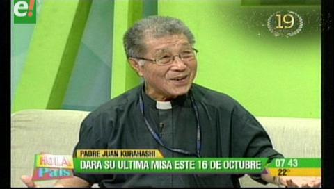 El padre Juan dará su última misa en Santa Cruz el 16 de octubre