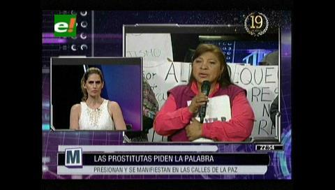 Trabajadoras sexuales piden la palabra