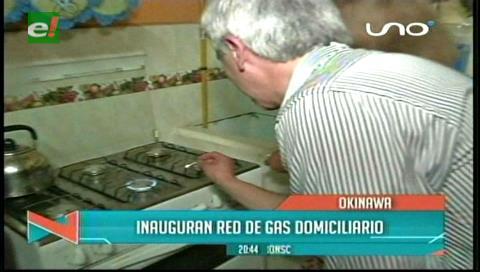 Vicepresidente inauguró 270 instalaciones de gas domiciliario para familias de Okinawa